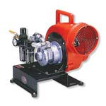 8-inch Air Driven Centrifugal Blower