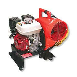8-inch Gas-Powered Centrifugal Blower Honda Engine