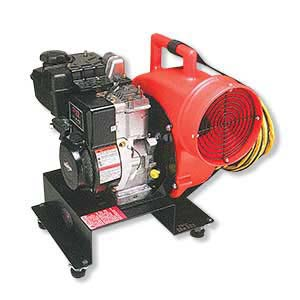 8-inch Gas-Powered Centrifugal Blower