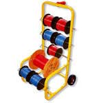 Wire Spool Caddy and Carts
