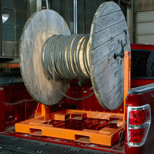 Load N Go Reel Rack System Folds For Easy Storage
