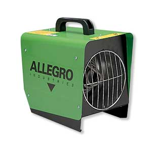Portable Tent Heater  sc 1 st  WCT Products & Allegro Portable Heater for Work Tents u0026 Temporary Shelters