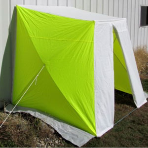 Pop Up Versa Tents Wall Adjacent Portable Utility Shelter