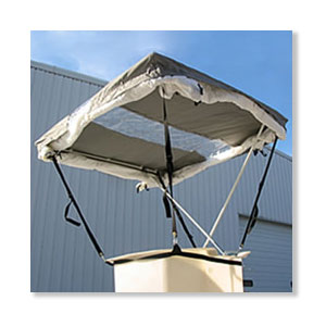 Aerial Bucket Tent  sc 1 st  WCT Products & Aerial Bucket Tent - Clamp Shelter to Lift Buckets
