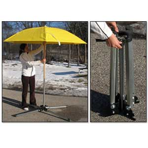 Heavy-Duty Umbrella Stand In Use