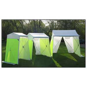 Portable Pop-Up Utility Work Tents