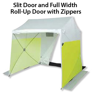Pop Up Work Tents Splicing Tents Portable Utility Shelter