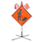 Spring Stand and Roll-Up Traffic Sign Sets