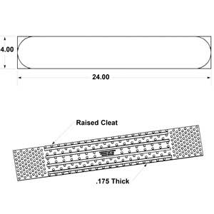 24-inch Rumble Strips Illustration