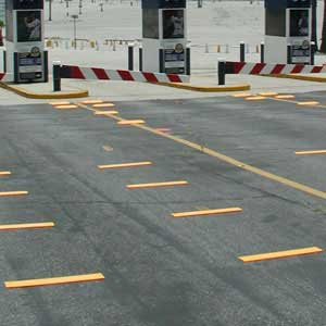 24-inch Rumble Strips Installed