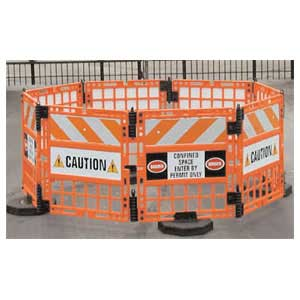 TD1100 WORKGard 8-Panel Barricade