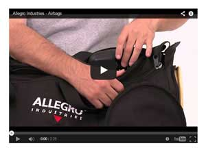 Allegro Confined Space Airbag Blower Fans Video