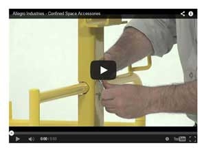 Allegro Confined Space Accessories Video