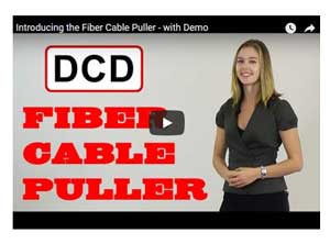 DCD Design Fiber Optics Cable Puller