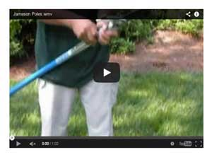 Jameson Fiberglass Lay-Up Sticks and Pruner Poles Video