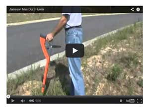 Jameson Mini Duct Hunter Traceable Fish Tape Demonstration Video